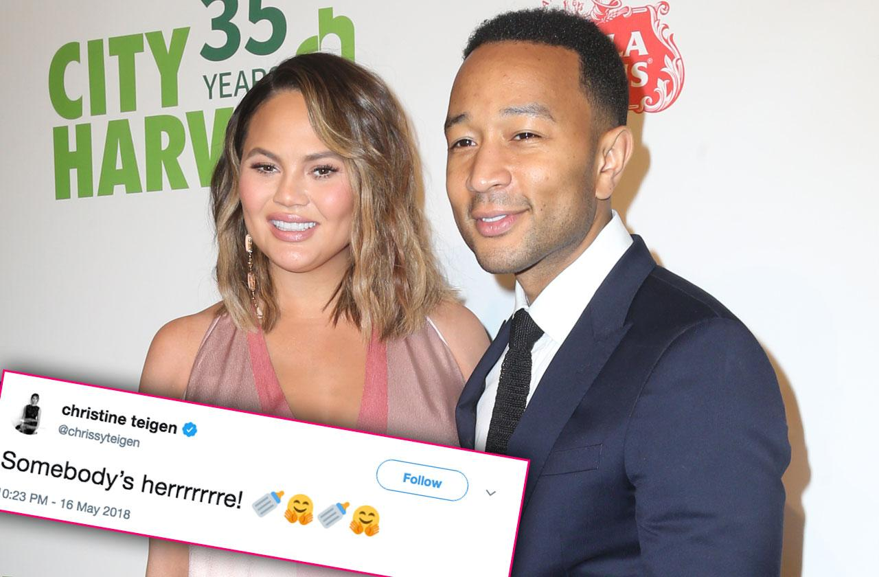 Chrissy Teigen John Legend Baby Boy