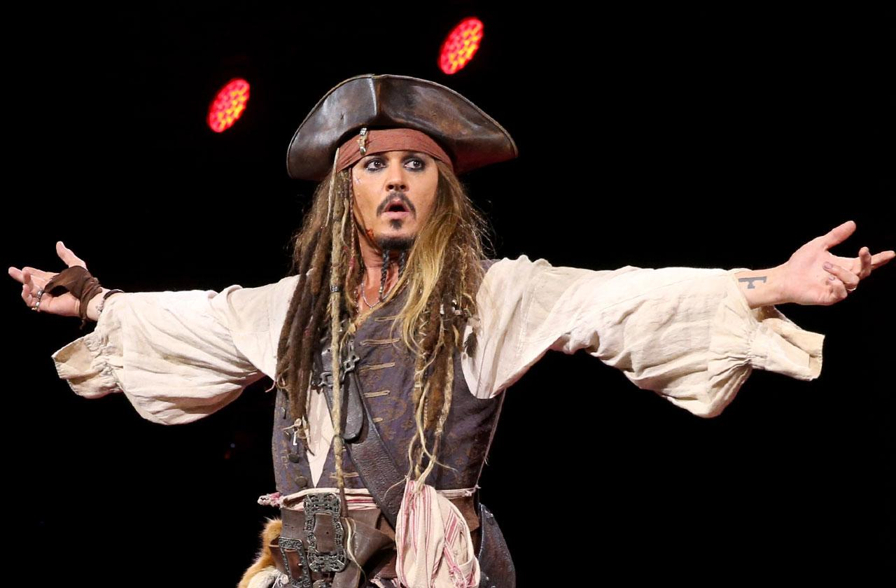 Johnny Depp Benched From Promoting New 'Pirates Of The Caribbean' Movie