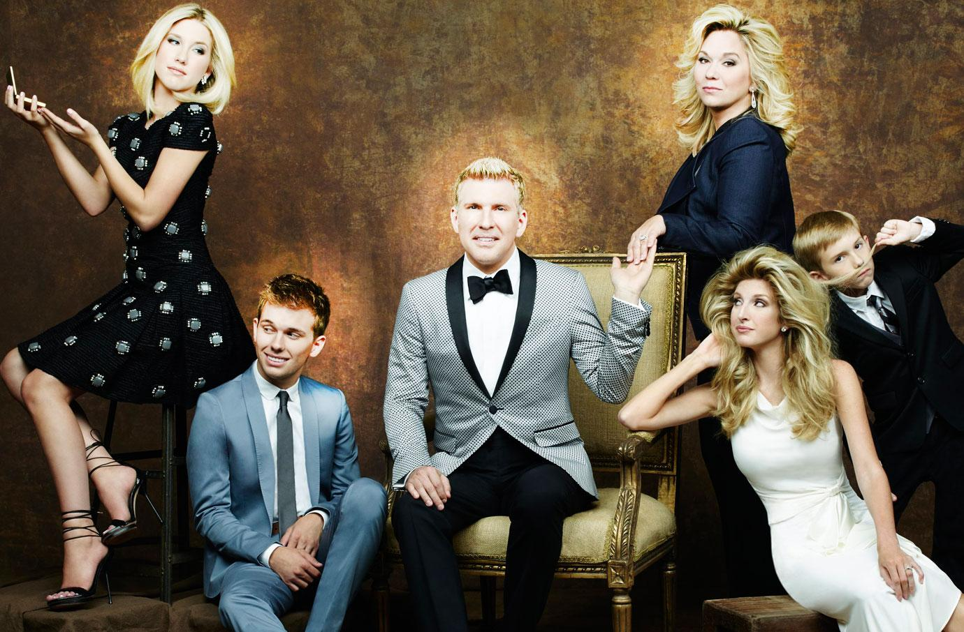 Todd Julie Chrisley Fake Bossy Kids Family