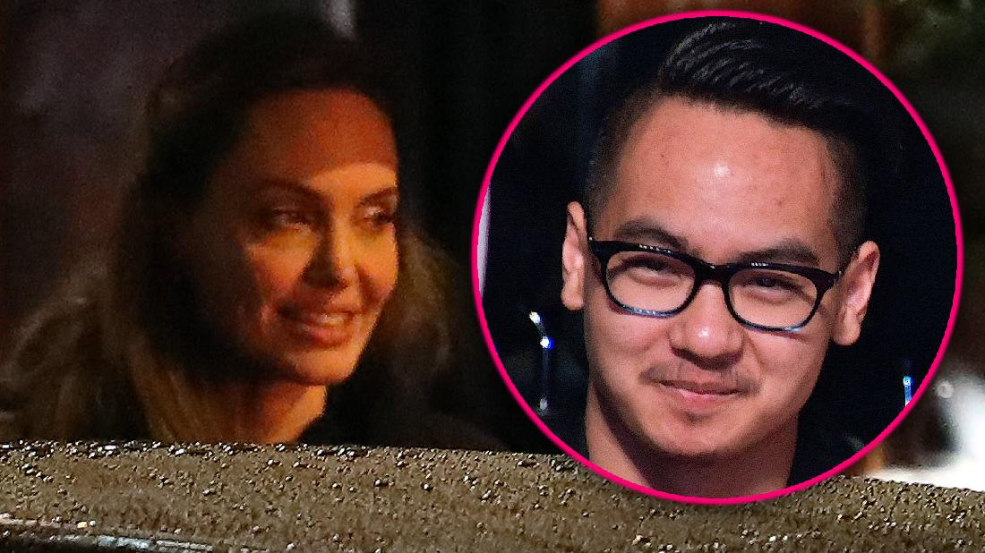 Angelina Jolie Sees Jackie Bisset While Maddox In College