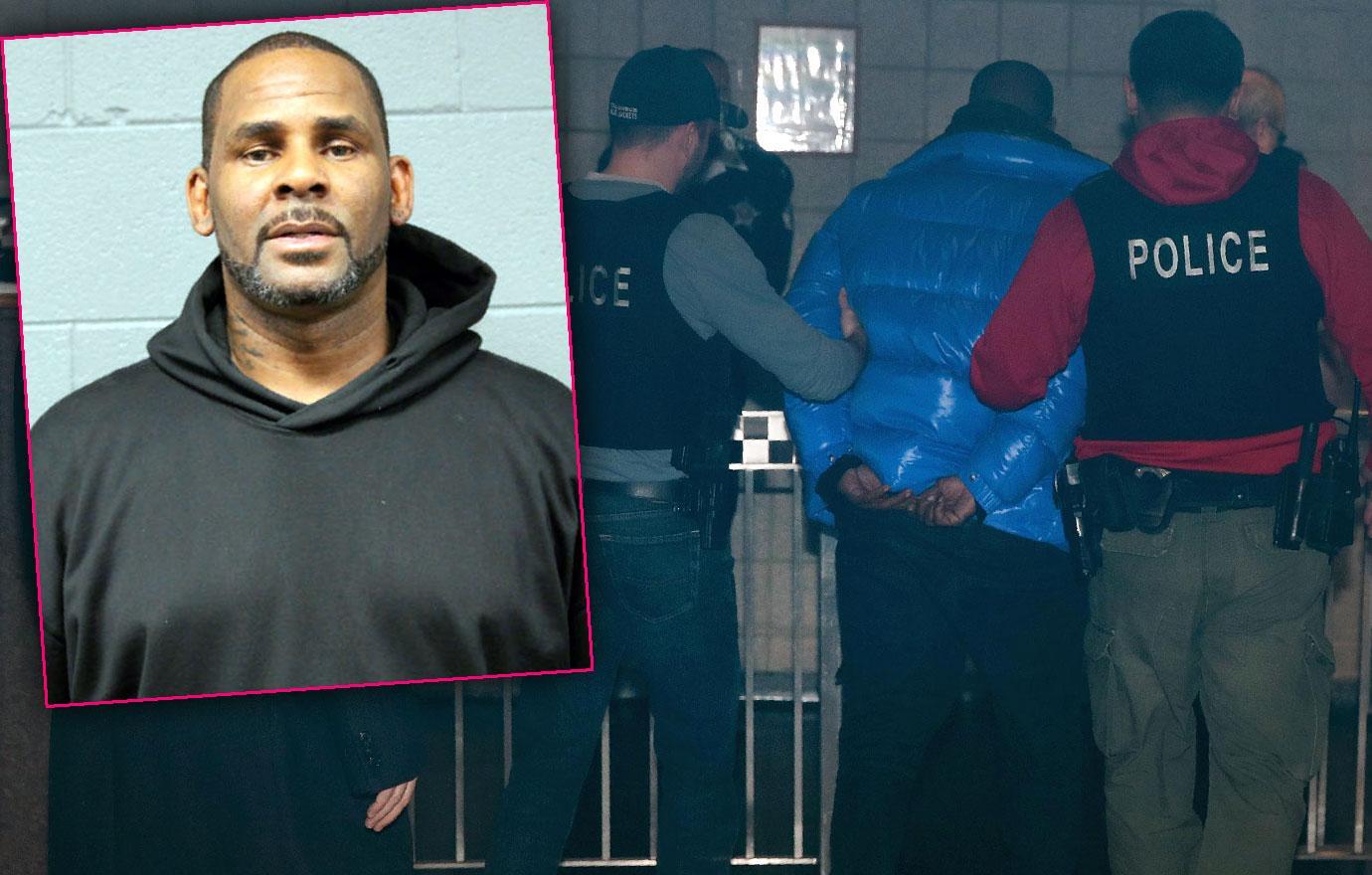 R Kelly Arrested For Sex Abuse Mug Shot