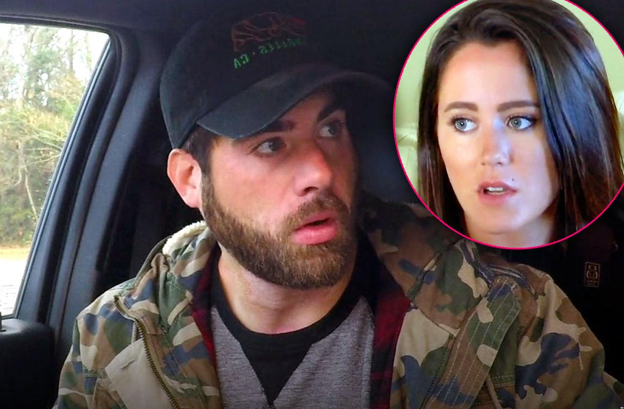 Jenelle evans husband threatens neighbor video illegal towing charges