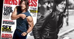 //Norman Reedus mens fitness cover