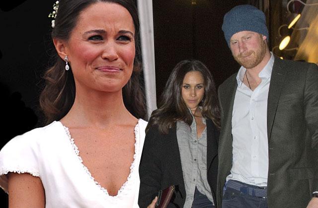 Prince Harry Meghan Markle Engagement Pippa Middleton Bans Wedding