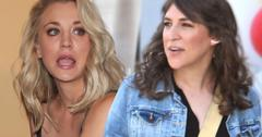 Kaley Cuoco Mayim Bialik Hate Each Other