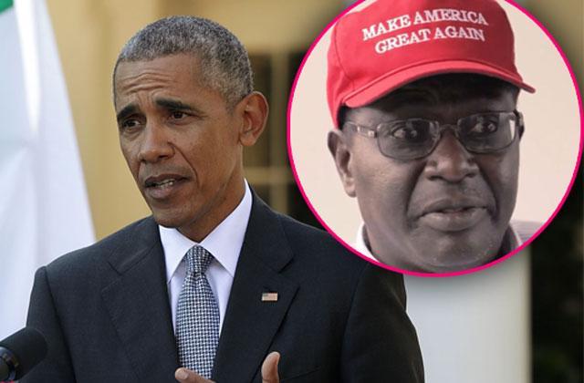 Barack Obama Brother Malik Donald Trump Supporter Debate