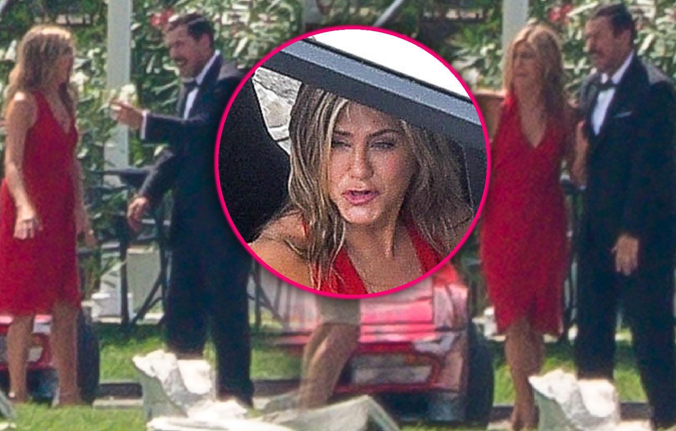 Jennifer Aniston Films Movie With Adam Sandler After Justin Theroux Split