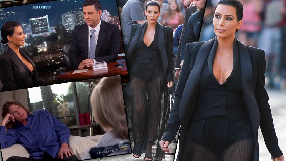 Kim Kardashian Jimmy Kimmel Photos