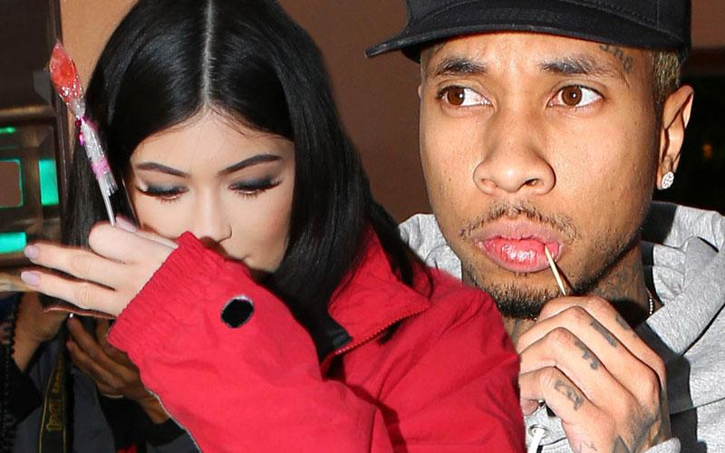Kylie Jenner & Tyga Relationship Problems -- Kylie Cries In Intense Video
