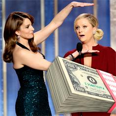 //tina fey amy poehler big money golden globes