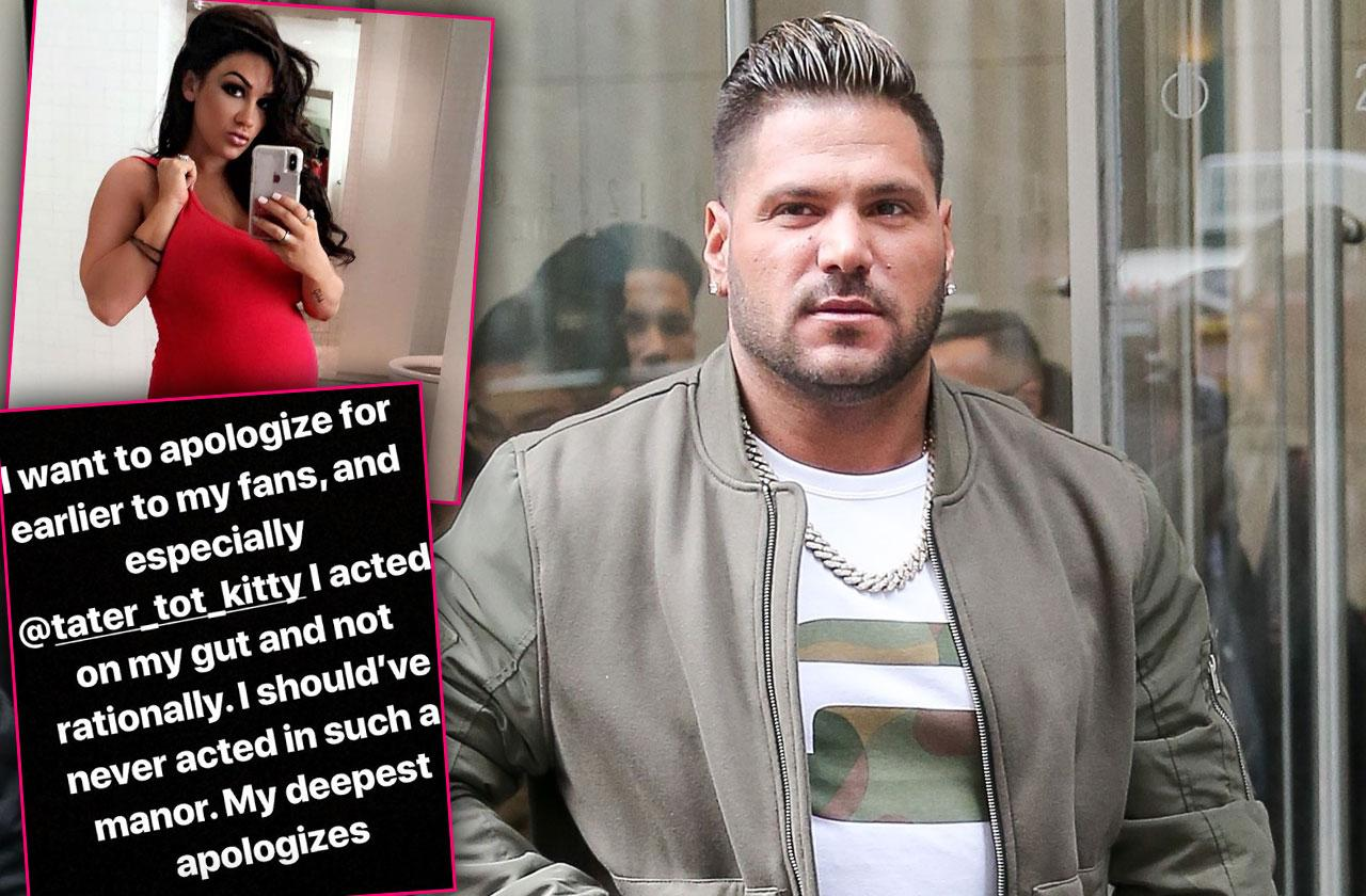 Ronnie Ortiz Magro Girlfriend Instagram Fight