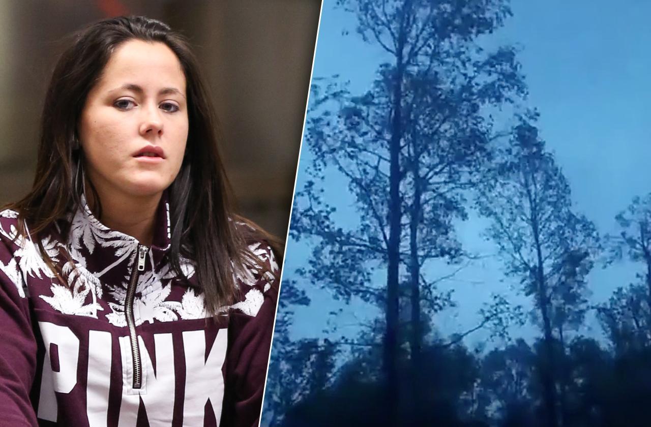 jenelle evans david eason hurricane florence video teen mom 2