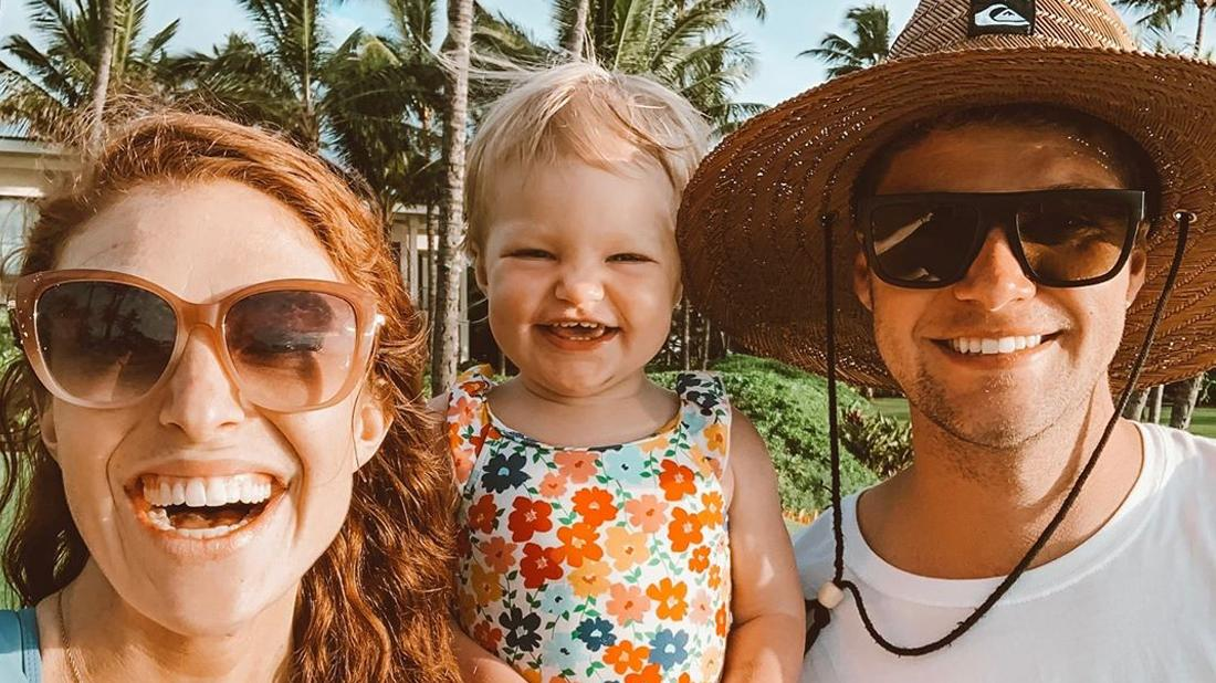Audrey, Jeremy and Amber Roloff on vacation.