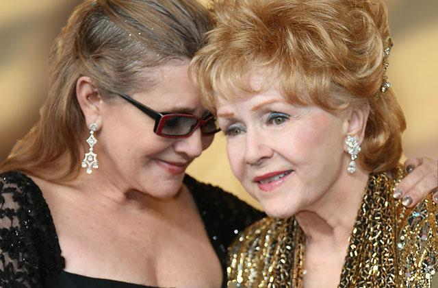 Carrie Fisher Debbie Reynolds HBO Documentary Bruised Face Fall Pics