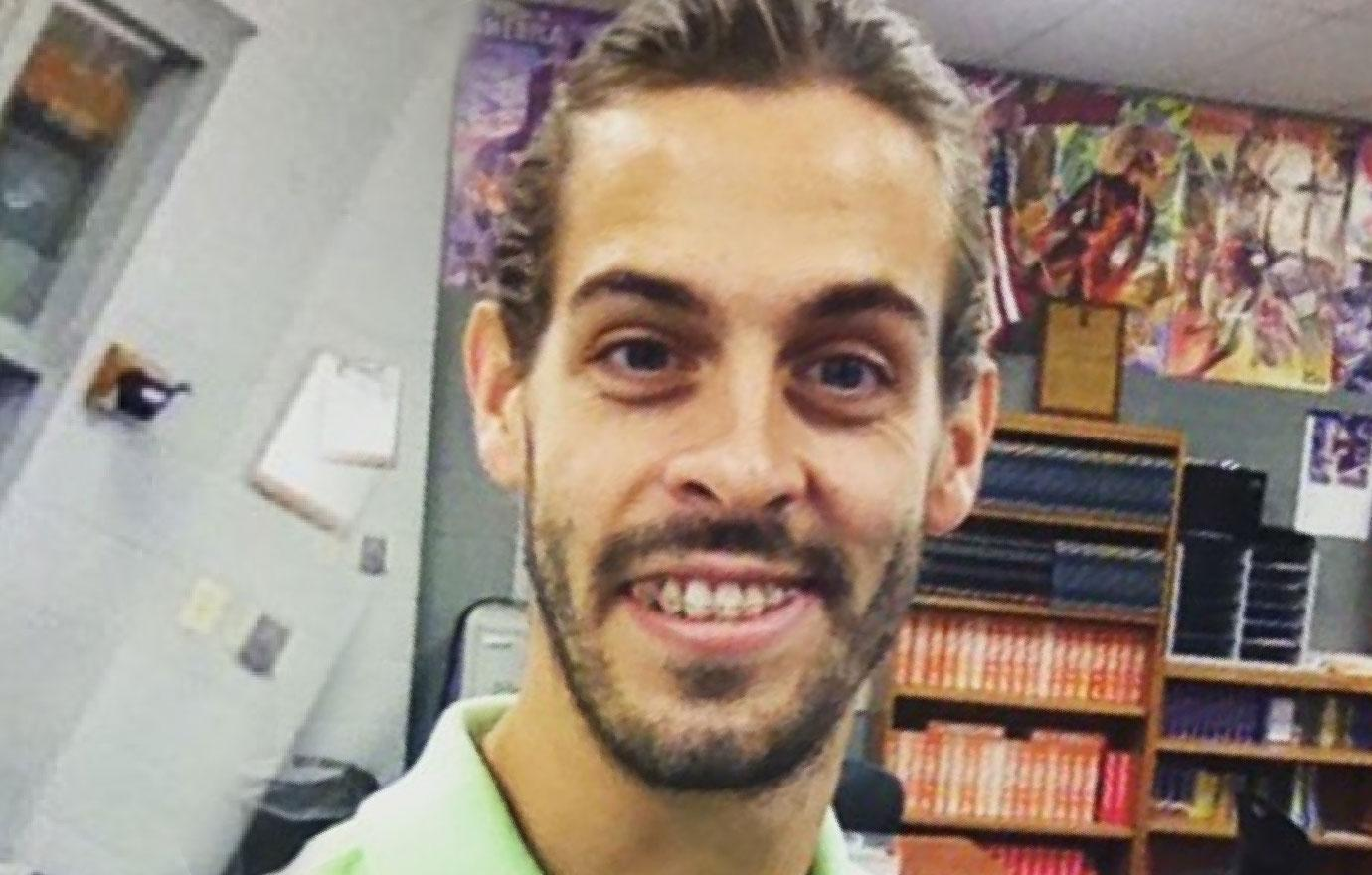 Derick Dillard Works At Religious Event