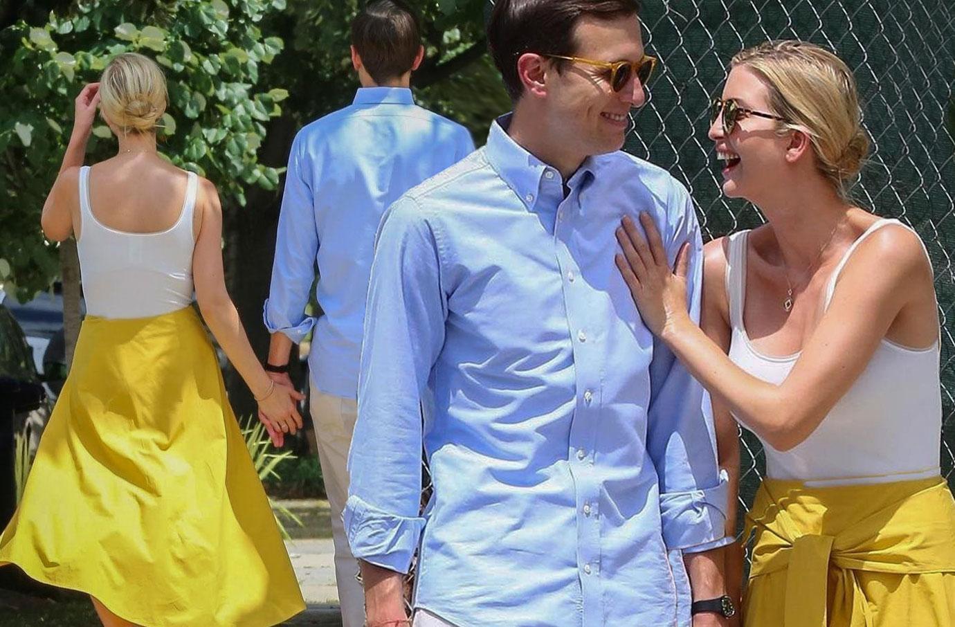 Ivanka Trump Shares Romantic Walk With Husband Jared Kushner