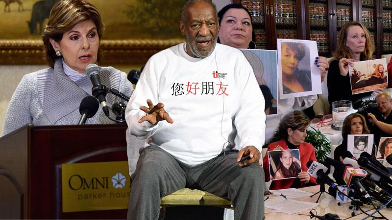 Gloria Allred Deposes Bill Cosby For Seven Hours In Playboy Mansion Assault Case