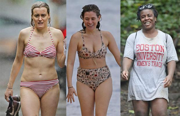 Taylor Schilling Bikini OITNB Orange New Black Uzo Aduba