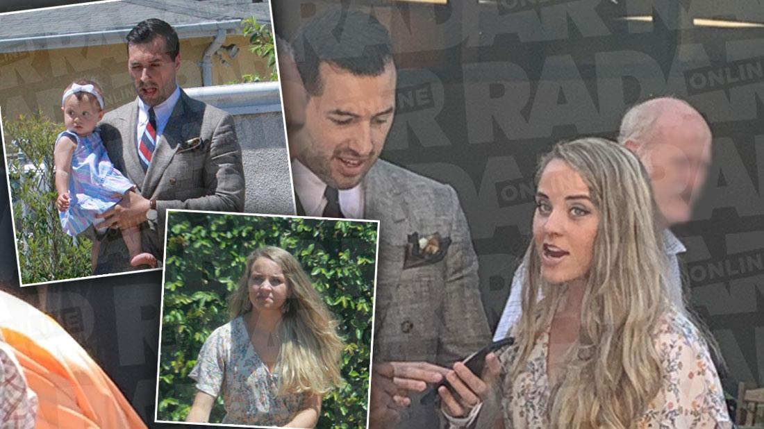 Jinger's Hollywood Makeover! Duggar Appears Bronze & Blonde In LA Church Outing