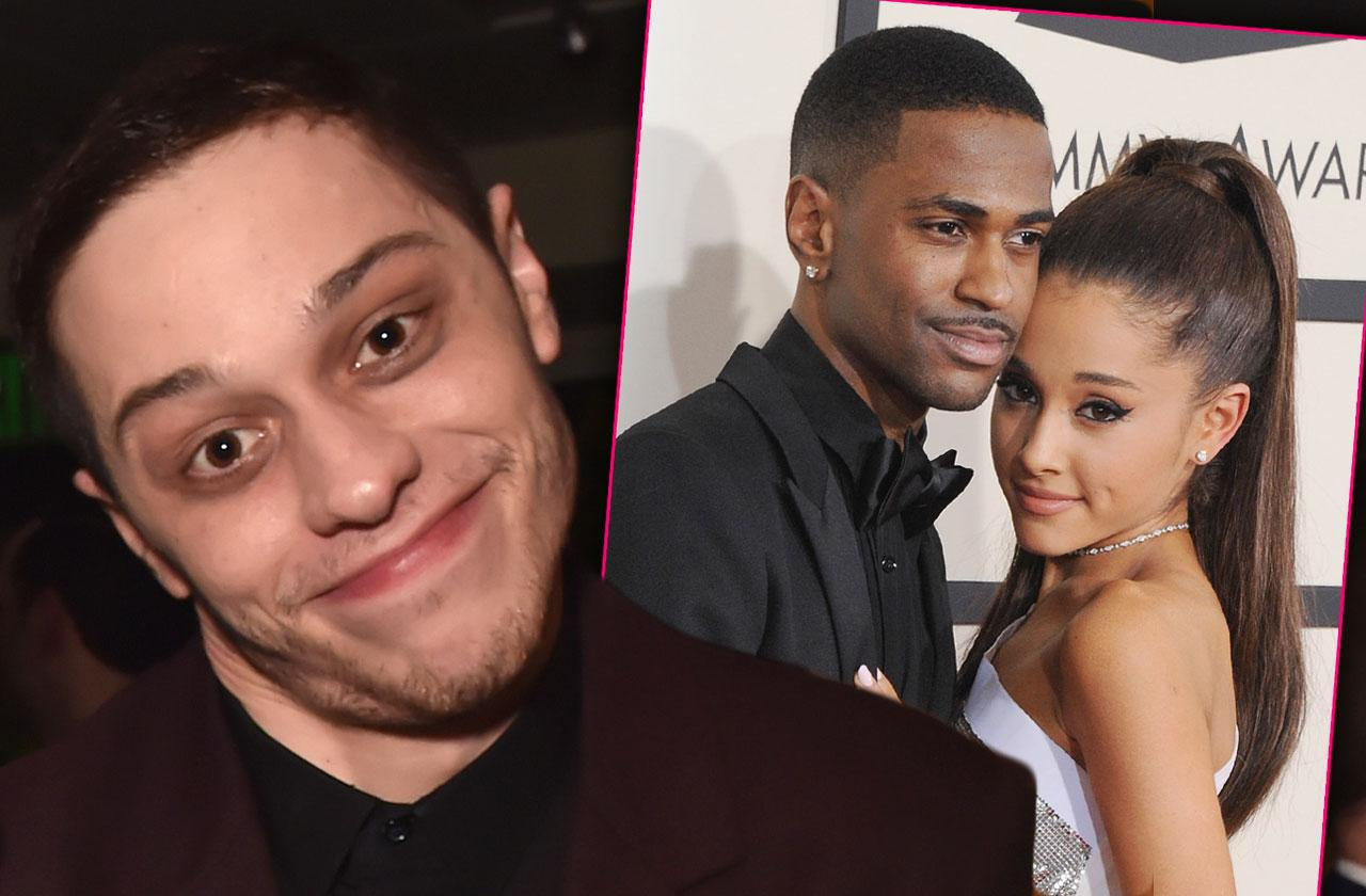 Pete Davidson shocks fans crude joke Ariana grande big sean sex life