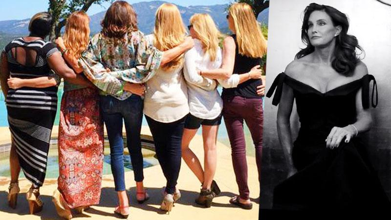Caitlyn Jenner Learns From Other Transgender Women