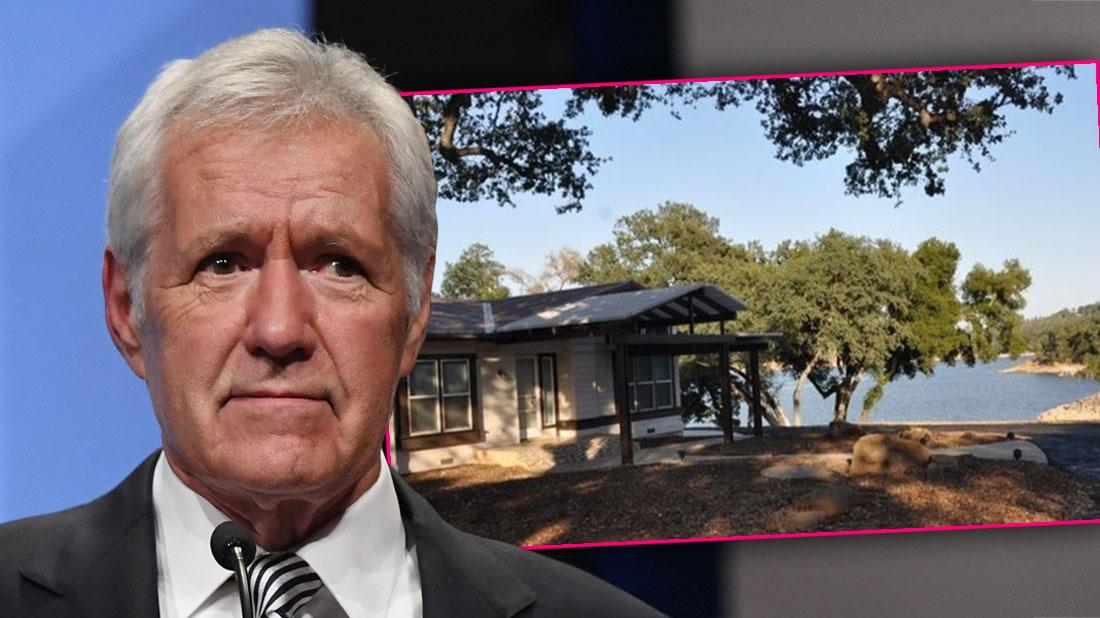 Jeopardy Host Alex Trebek Sells Lake House