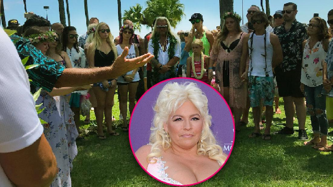 Dog The Bounty Hunter Has Memorial For Wife Beth Chapman