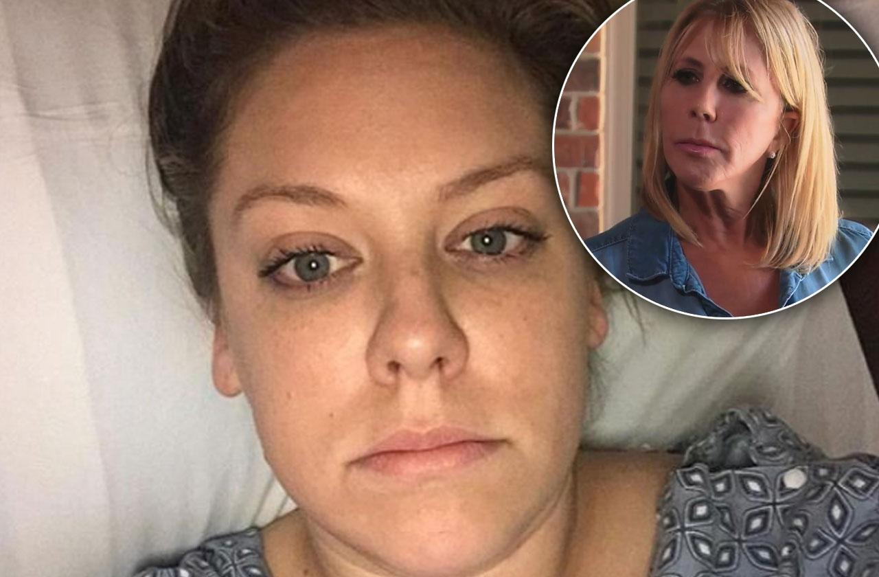 Vicki Gunvalson Daughter Briana Hospitalized Lupus