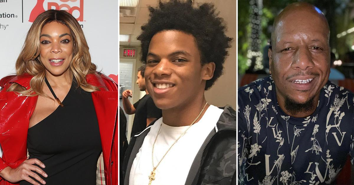wendy williams son kevin leaves los angeles week long party trip dad engaged mistress pp