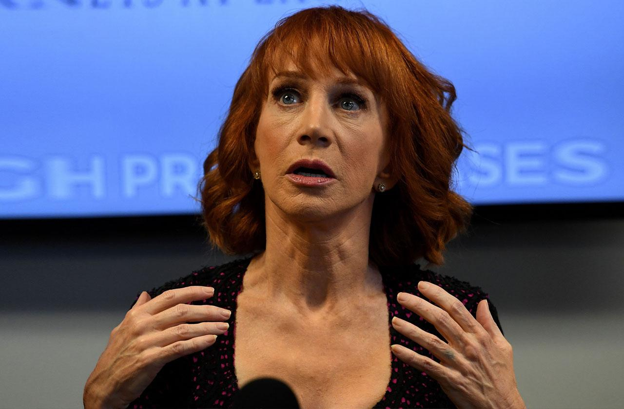//Kathy Griffin Fashion Police Banned pp