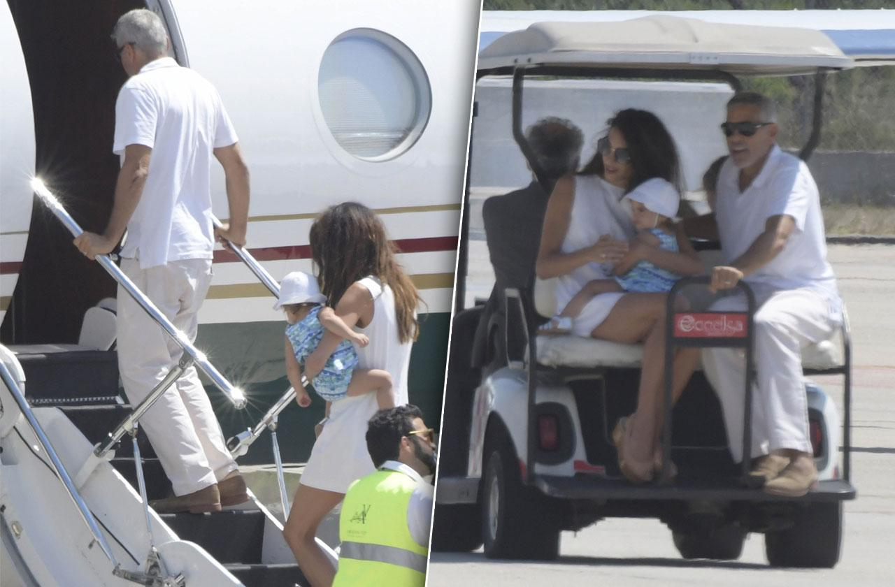 George Clooney Amal Twins Car Accident