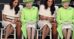 Meghan Markle Queen Elizabeth Smile Royal
