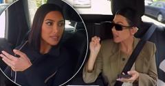 Kim & Kourtney Kardashian Fight Before She Leaves 'KUWTK'
