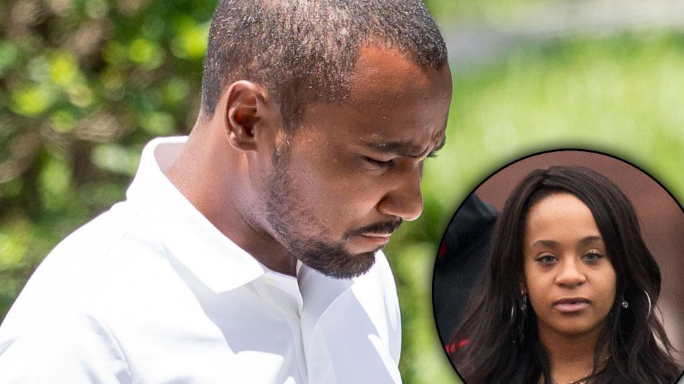 Bobbi Kristina Brown Nick Gordon Suit