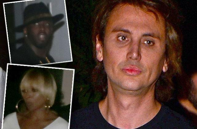 Jonathan Cheban Miami Diddy Mary J Blige