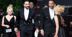Pamela Anderson & World Cup Soccer Adil Rami Boy Toy Loved Up In France