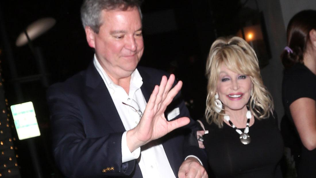 Dolly Parton Spotted With Mystery Man