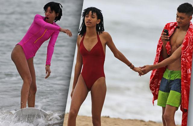Willow Smith Bikini Boyfriend PDA