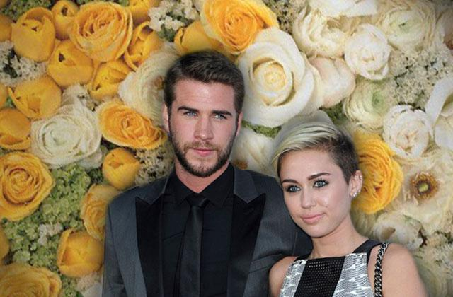 //Miley Cyrus Liam Hemsworth Wedding pp