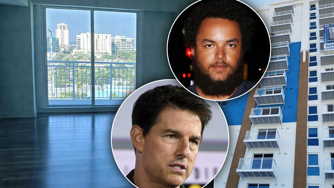 Connor Cruise Moves Out Of Dad Tom's Scientology Lair