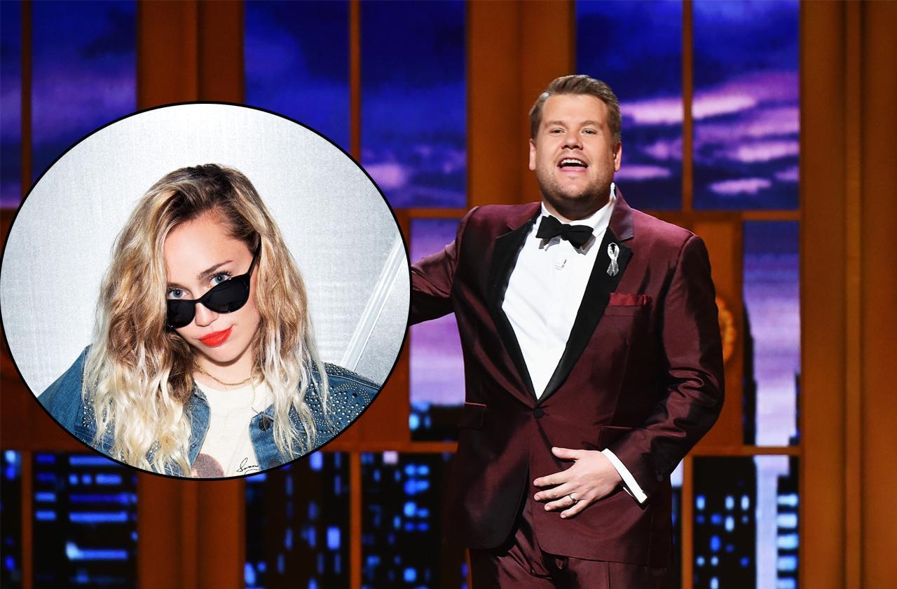 Miley Cyrus Bad Carpool Karaoke Segment James Corden Exclusive