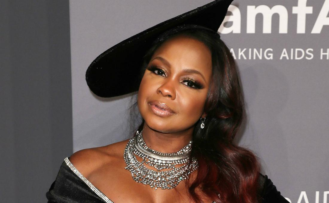 Phaedra Parks at the amfAR Gala in New York.