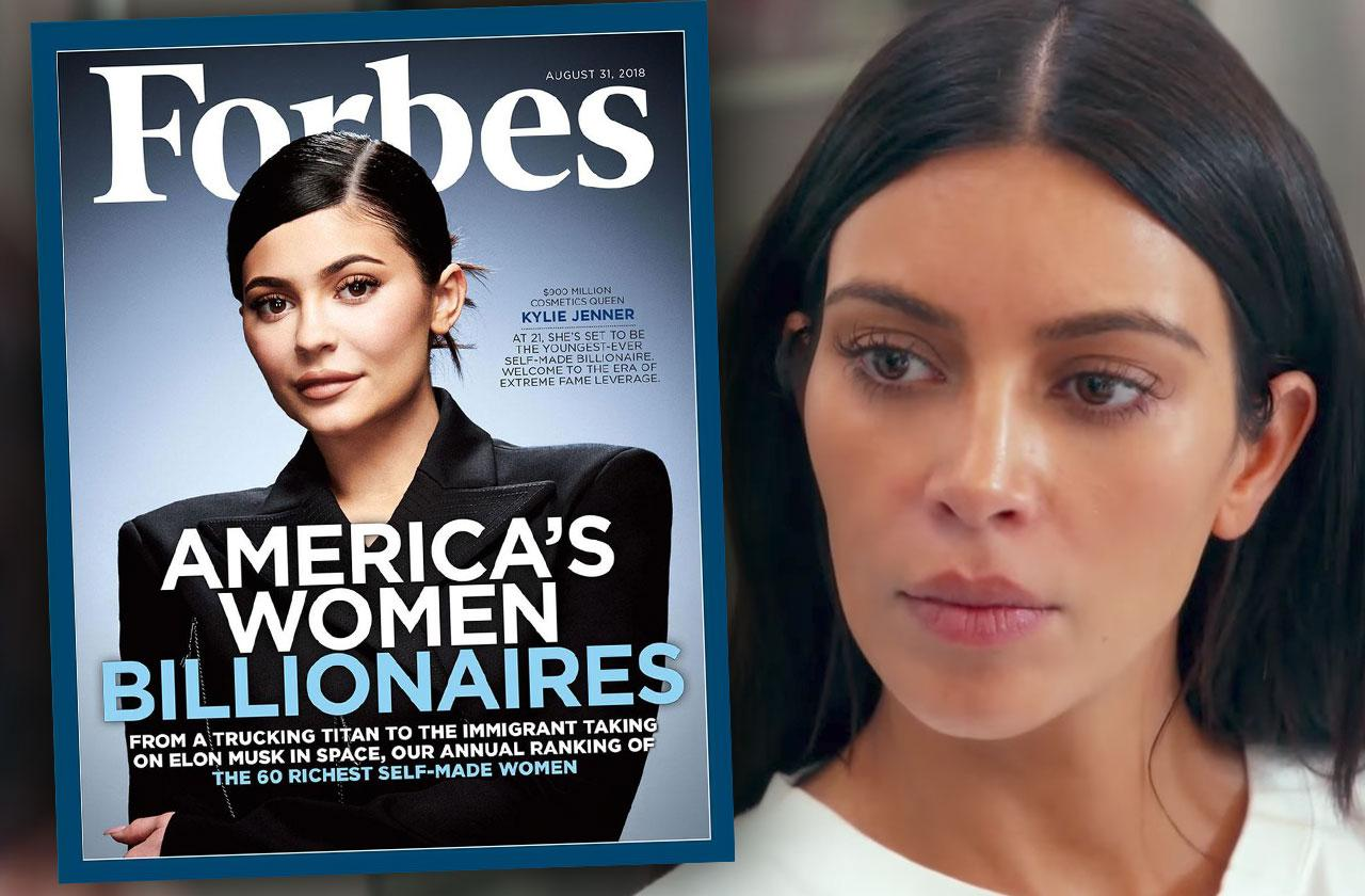 Kylie Jenner Billionaire Forbes Kim Kardashian