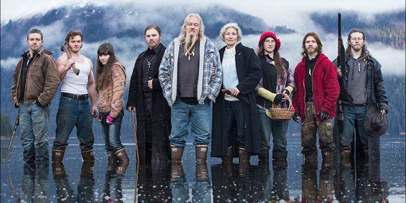 The Brown family, otherwise known as the Alaskan Bush People.