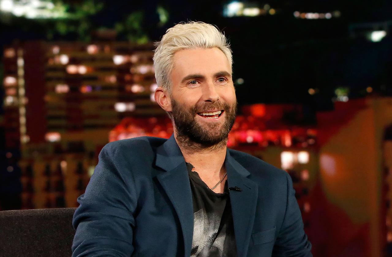 The Voice Coach Adam Levine Bones Stay After Baby Two