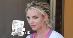 Documents filed in the Britney Spears Conservatorship case.