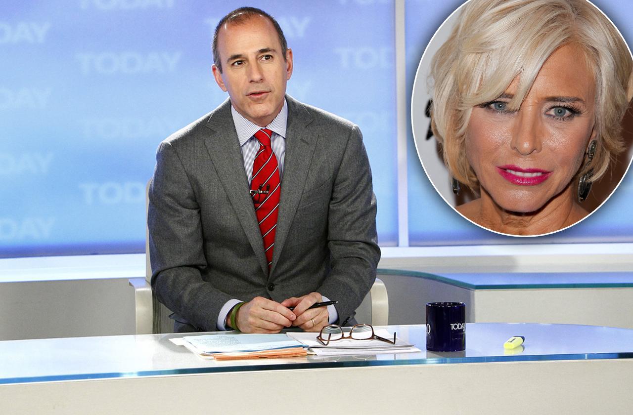 //matt lauer cheating scandal first wife caught unfaithful leggy blonde today correspondent pp