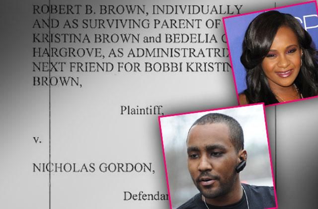 //bobbi kristina nick gordon wrongful death lawsuit trial pp