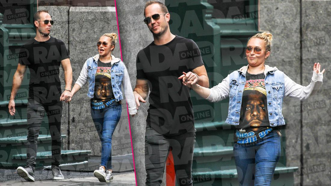 Hayden Panettiere Walking Hand and Hand With Zach Hickerson