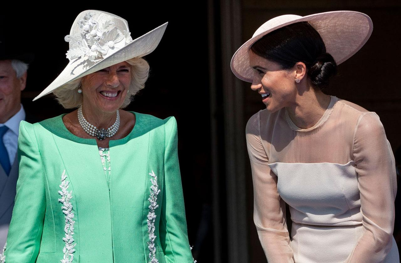 //camilla comments on meghan markle father drama before royal wedding pp